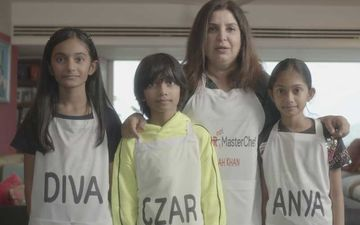 Junior MasterChef Australia: Farah Khan's Triplets Judge Mother's Cooking Skills; Give Her A Thumbs Down – VIDEO