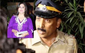 Cops Interrupt Farah Khan's Revelry