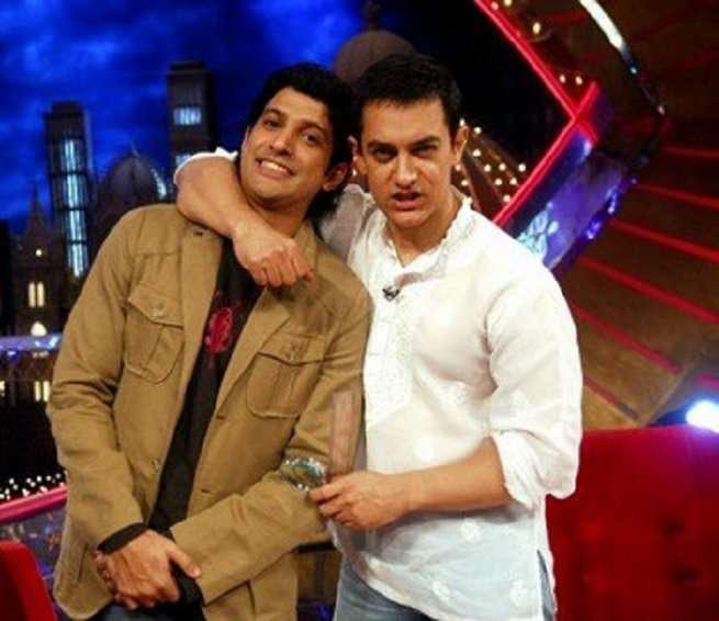farhan akhtar and aamir khan