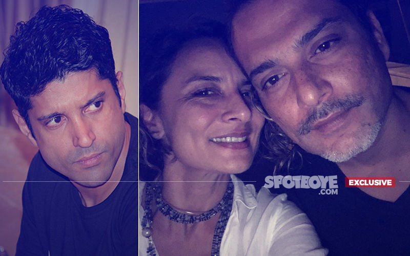 Farhan Akhtar Runs Into Ex-Wife Adhuna Bhabani Dancing Hand-In-Hand With Boyfriend Nicolo Morea!