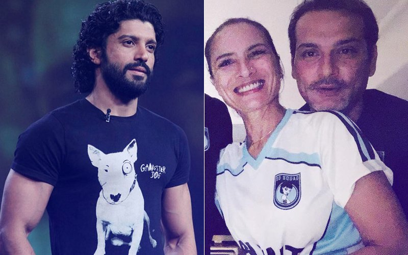 Farhan Akhtar Comments On Ex-Wife Adhuna's Picture With Her Boyfriend