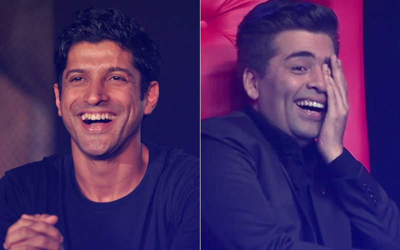 Farhan Akhtar To Wear A Frock, Karan Johar To Get A Lap Dance, Lip Sing Battle Promises To Be Fun