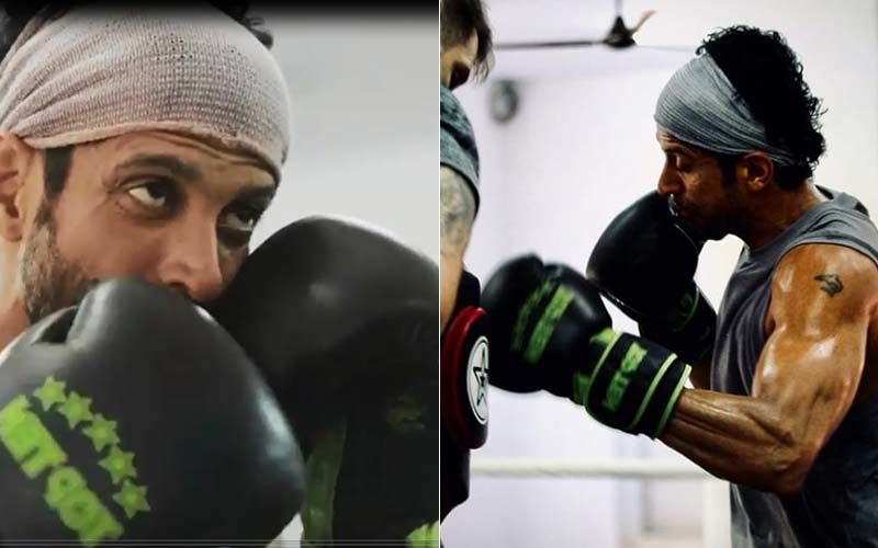 Farhan Akhtar Does High-Intensity Workouts For Toofan; Shares Sneak-Peek Into His Preparations