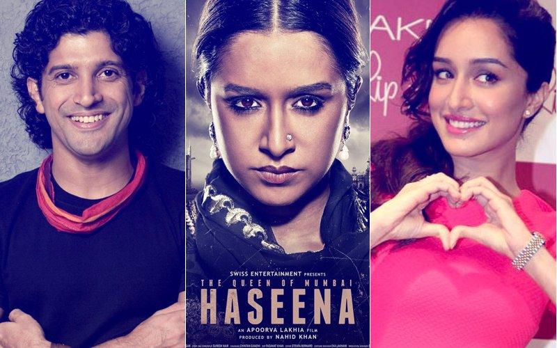 Farhan Akhtar Praises Haseena Parkar's Teaser, Shraddha Kapoor Replies With A 'Love' Emoji