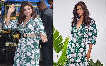 FASHION CULPRIT OF THE DAY: Parineeti Chopra In A Yayoi Kusama Polka Dot Jodi Dress