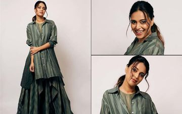 FASHION CULPRIT OF THE DAY: Swara Bhasker, Your Tent Dress And Silk Shirt Makes Us Yawn Really Bad