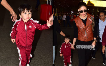 Fashion Police, Check This Out! Taimur Slays His Airport Look, Mommy Kareena Kapoor Khan Complements Well