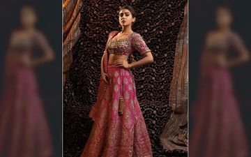 Sara Ali Khan Makes For A Breathtaking Bride In A Heavenly Pink Lehenga;  Actress Accepting Rishtas?