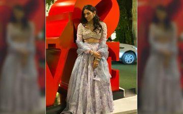 Shloka Mehta's Lilac Lehenga Is Perfect For A Day Wedding