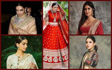 Sabyasachi Bridal Wear 2019: Take Tips From Deepika Padukone, Katrina Kaif, Sonam Kapoor And Anushka Sharma For Dressing Right This Wedding Season