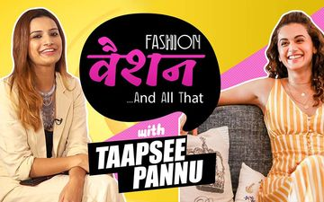 FASHION VASHION AND ALL THAT: Taapsee Pannu On Not Dressing For Her Body Type, Making Faux Pas- But Not Giving A Damn