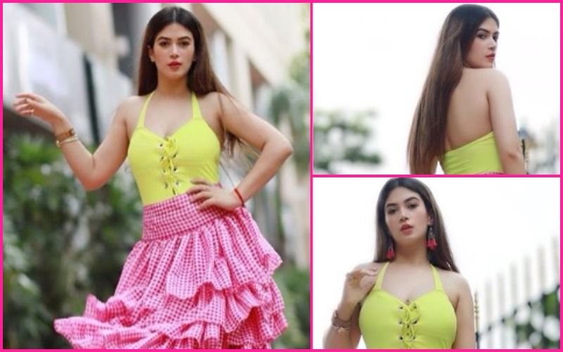FASHION CULPRIT OF THE DAY: Bandgi Kalra, That's The Worst Neon Combination Seen Ever!