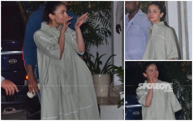 FASHION CULPRIT OF THE DAY: Someone SAVE Alia Bhatt From Drowning In That Oversized Shirtdress!