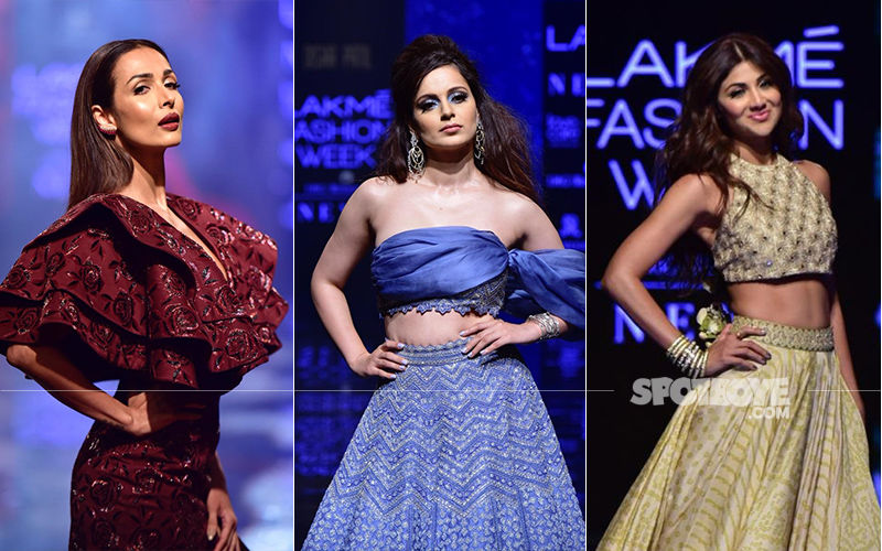 Lakme Fashion Week 2019: Malaika Arora, Kangana Ranaut And Shilpa Shetty Raise The Oomph Factor As Showstoppers
