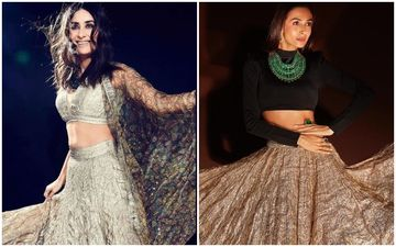 Kareena Kapoor Khan Vs Malaika Arora- Who Looked HOTTER In The Itrh Crushed Gold Skirt?