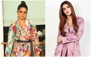 Priyanka Chopra Jonas Vs Kriti Sanon- Who Looked HOT And Who Could NOT In The Floral Pantsuit?