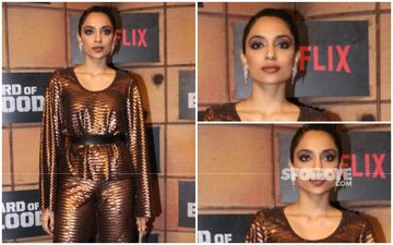 FASHION CULPRIT OF THE DAY: Sobhita Dhulipala, Your Metallic Look Has Many Loopholes