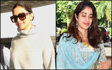 Deepika Padukone's Turtle Neck Vs Janhvi Kapoor's Sharara Bomb- Whose Airport Look Is Hotter?