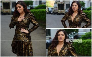 FASHION CULPRIT OF THE DAY: Bhumi Pednekar, We're Having A Shimmer And Sparkle Diarrhoea