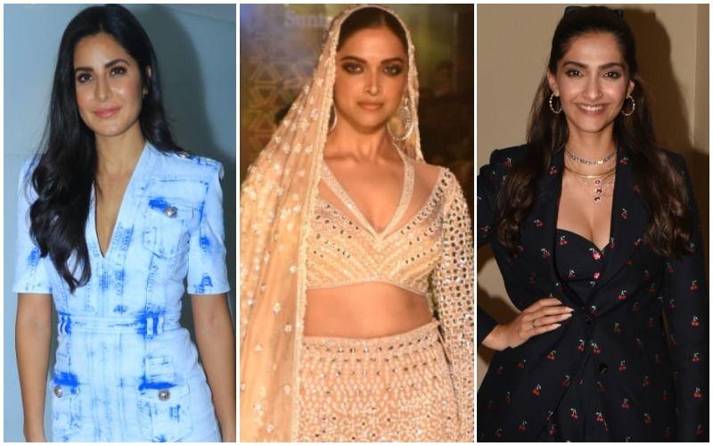 Katrina Kaif, Deepika Padukone And Sonam Kapoor Are Soaring The Friday Fashion Fever!