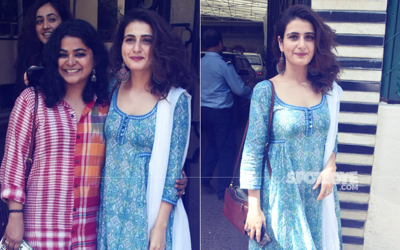 Fatima Sana Shaikh & Ashwiny Iyer Tiwari Spotted At Balaji Telefilms. Is A movie On The Cards?
