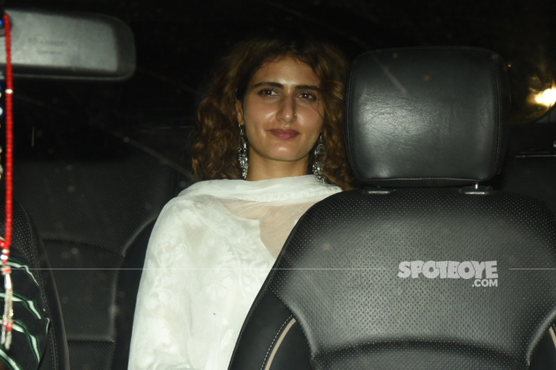 fatima sana shaikh at the screening