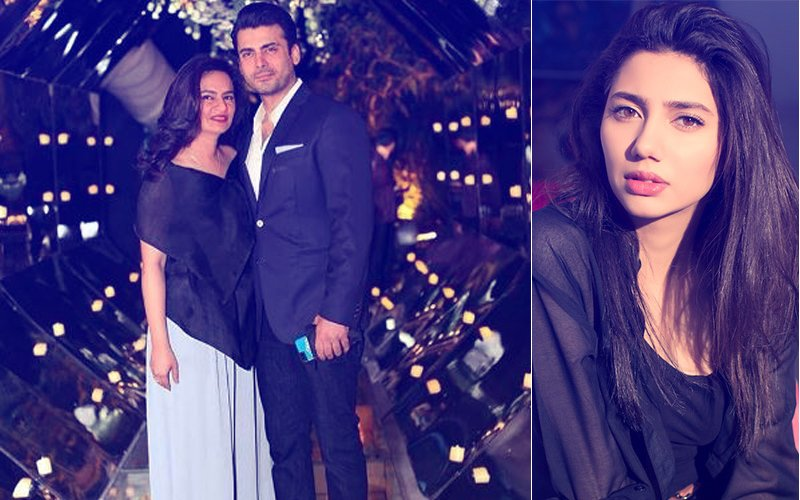 Fawad Khan Throws A Surprise Birthday Party For Wife Sadaf, Mahira Khan Attends