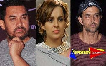 Kangana cried on Aamir's shoulder post her split from Hrithik