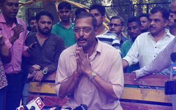"Nana Patekar Evades Media Outside His Building; Says, ""Please Leave, My Lawyer Has Forbidden Me To Speak"""