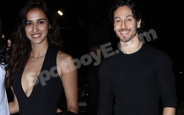 Disha Patani Attends 'Good Friend' Tiger's Preview Of A Flying Jatt