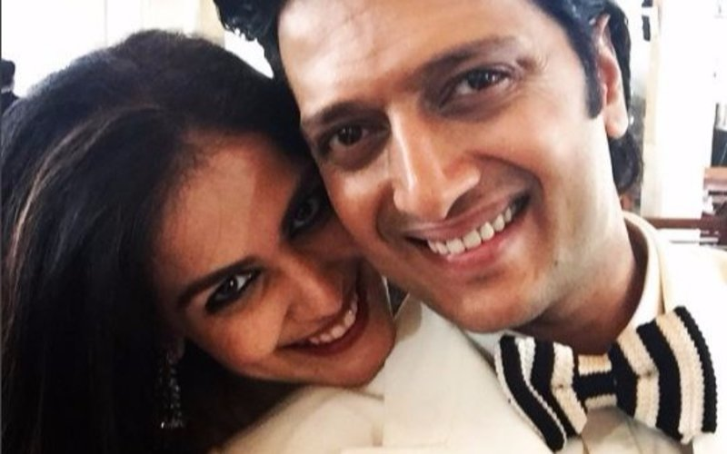 Riteish Deshmukh has a special b'day wish for wife Genelia