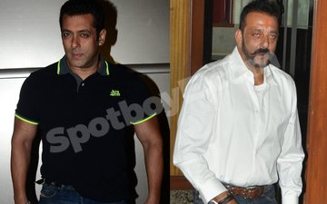 VIDEO: THE COLD WAR CONTINUES: Salman and Sanjay party separately at IIFA