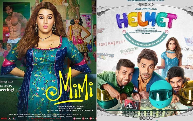 From Pranutan Bahl's Helmet To Kriti Sanon's Mimi; 4 Bollywood Films That Will Make You Laugh And Think On Some Important Social Issues