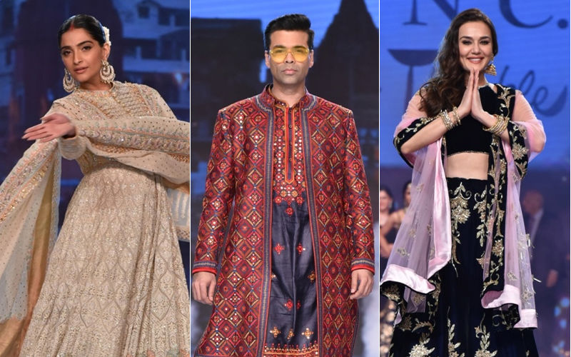 Abu Jani-Sandeep Khosla's Caring With Style Fashion Show: Sonam Kapoor, Karan Johar, Preity Zinta Turn Up The Heat