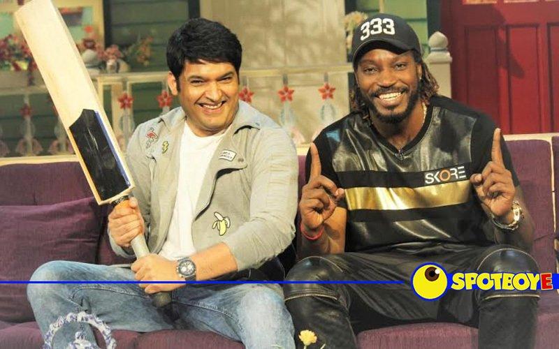 Chris Gayle's fun time in The Kapil Sharma Show