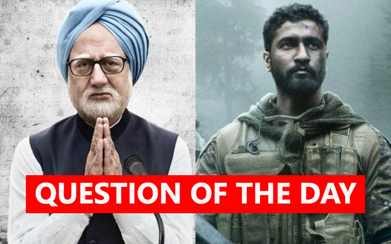 QUESTION OF THE DAY: Which One Will You See First- The Accidental Prime Minister Or Uri?