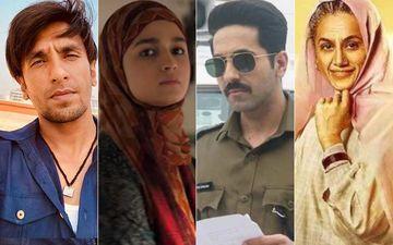 Filmfare Awards 2020: Ranveer Singh, Ayushmann Khurrana, Alia Bhatt And Taapsee Pannu Emerge Winners Of The Big Nite