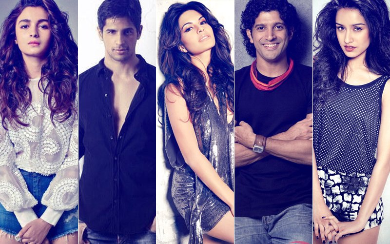 Here's What Brought Alia, Sidharth, Jacqueline, Farhan & Shraddha Together