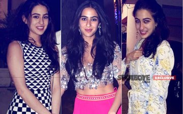 Guess Who's Checking Out Sara Ali Khan's Costumes?
