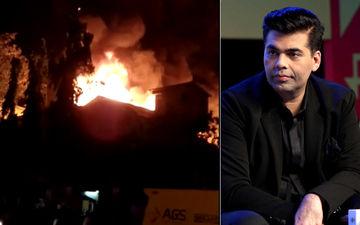 करण जौहर के धर्मा प्रोडक्शन के गोदाम में लगी आग, लाखो के सामान और किताबों का हुआ नुकसान