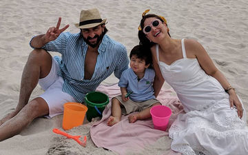 First Family Picture Of Saif-Kareena Kapoor Khan And Taimur From Cape Town Is Here