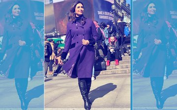 Divyanka's Winter Fashion In London Will Make You Go Green!