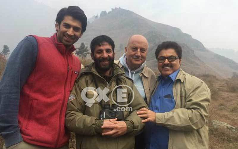 Fitoor Team In Kashmir | Spotted