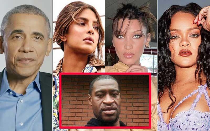#JusticeForGeorgeFloyd: Barack Obama, Rihanna, Priyanka Chopra, Nick Jonas, Bella Hadid And Others Say Black Lives Matter