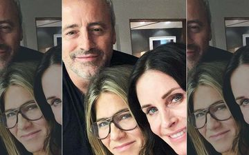 FRIENDS: Monica Courteney Cox, Joey Matt LeBlanc, Rachel Jennifer Aniston Reunite And We Can't Keep Calm