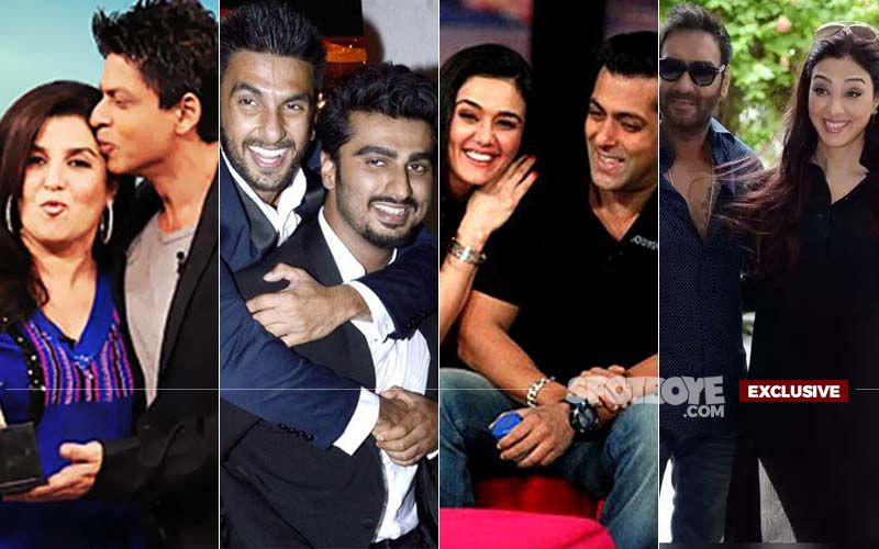 FRIENDSHIP DAY SPECIAL: How The  Dosti Of Shah Rukh-Farah, Ranveer-Arjun, Salman-Preity, Ajay-Tabu Stood The Test Of Time-  EXCLUSIVE ON 9X JALWA