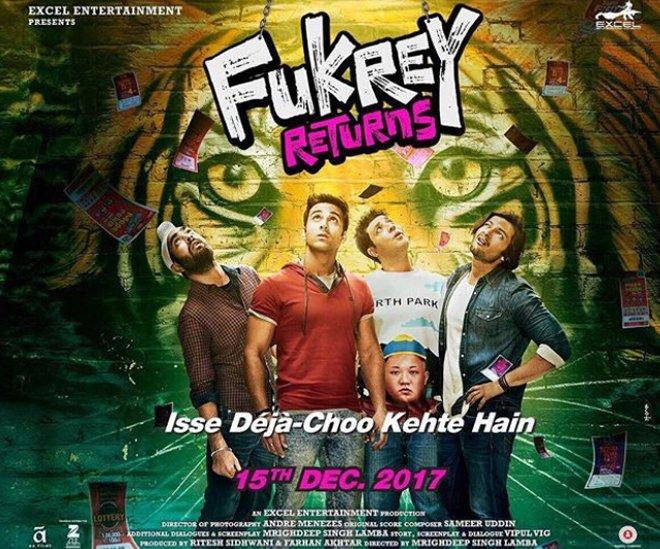 fukhrey returns poster