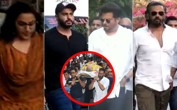 Veeru Devgan Funeral: Vidya Balan, Arjun-Anil Kapoor, Suniel Shetty Join Ajay-Kajol In Their Moment Of Grief