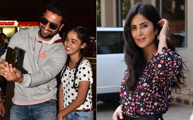 Celeb Spotting: Vicky Kaushal's  Selfie Time With Fan, Katrina Kaif's Bharat Promotion Outfit On Point