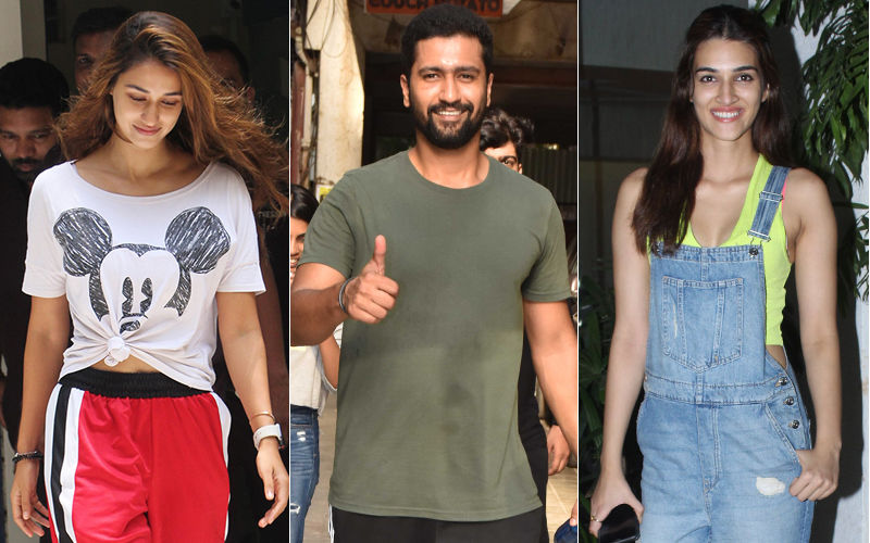Celeb Spotting: Disha Patani, Vicky Kaushal, Kriti Sanon Spotted In The City- VIEW PICS